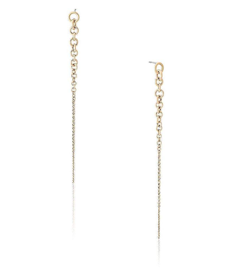 Michael Kors Holiday Luxe Curb Link Linear Earrings