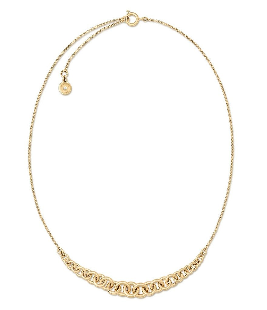 Michael Kors Holiday Luxe Chain-Link Collar Necklace