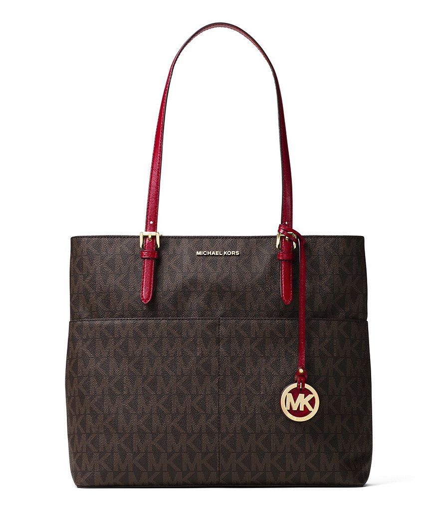 MICHAEL Michael Kors Bedford Signature Large Pocket Tote