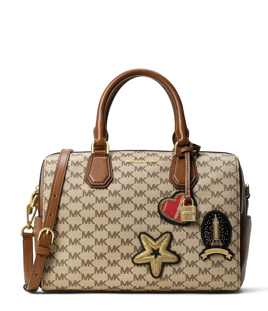 MICHAEL Michael Kors Studio Mercer Patches Satchel