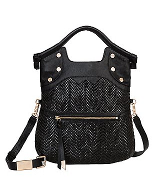 Foley & Corinna Ella Woven Top-Handle Lady Tote