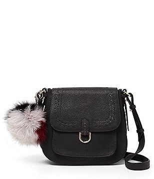 Botkier Grove Leather Flap Cross-Body Bag