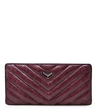 Botkier Soho Quilted Leather Snap Bifold Wallet