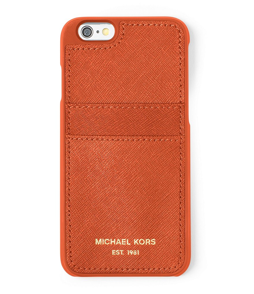 MICHAEL Michael Kors Saffiano Pocket iPhone 6/6s Case