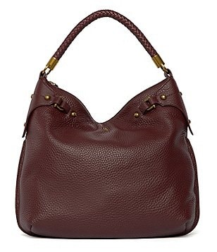 Etienne Aigner Esther Hobo Bag with Braided Top Handle