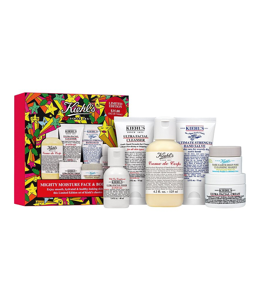 Kiehl´s Since 1851 Mighty Moisture Face & Body Set