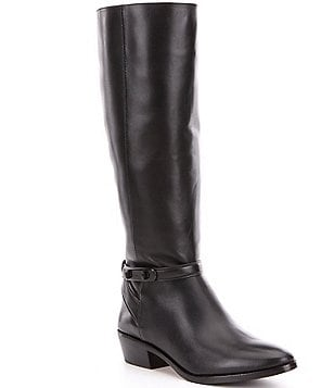 COACH CAROLINE WIDE CALF RIDING BOOT