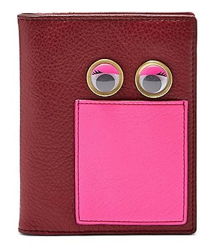 Fossil Googly Eyes RFID Passport Case