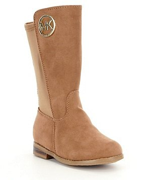 MICHAEL Michael Kors Girls´ Emma Luisa-T Tall Suede Riding Boots