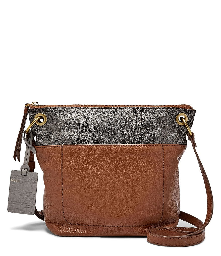 Fossil Keely Color Block Cross-Body Bag