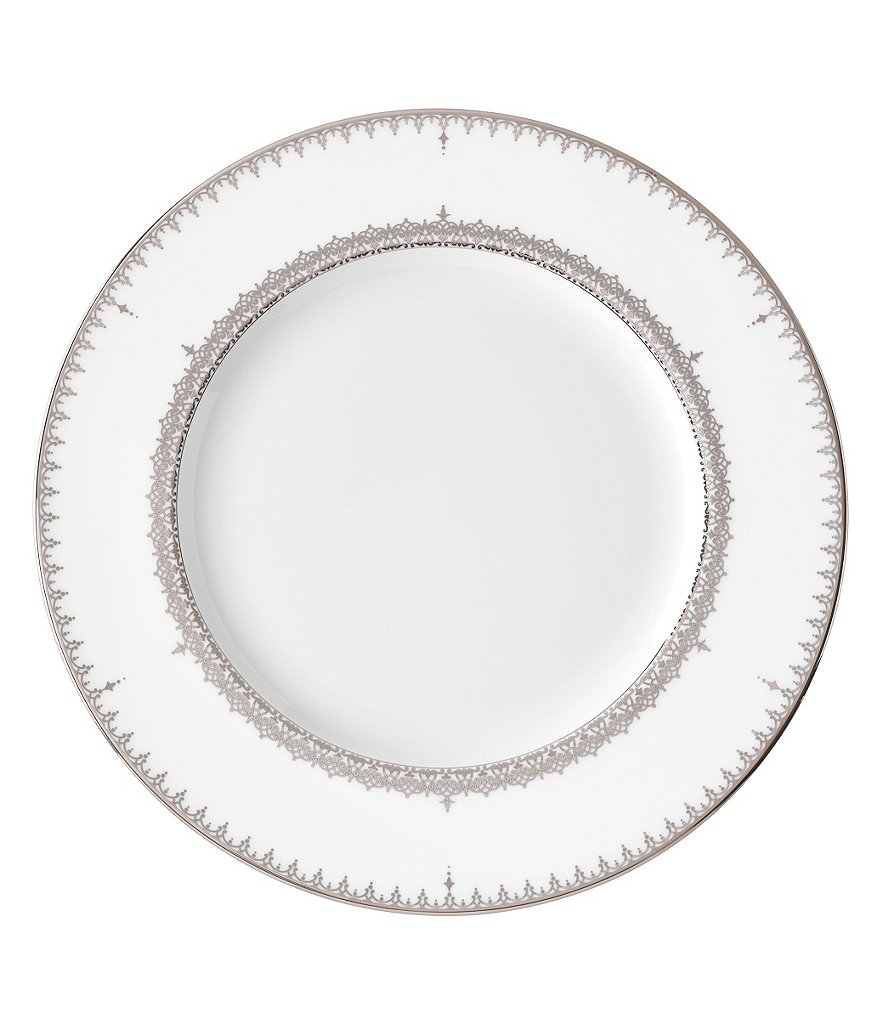 Lenox Lace Couture Platinum-Accented Salad Plate