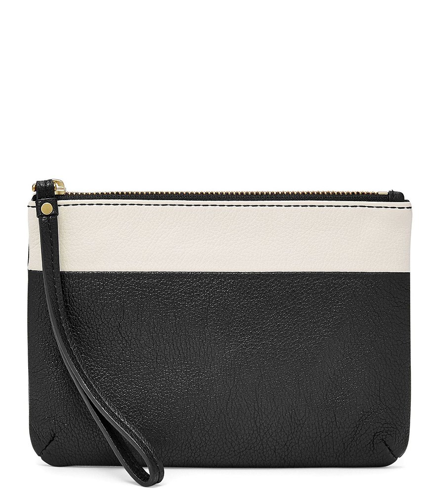 Fossil Keely Color Block Wristlet