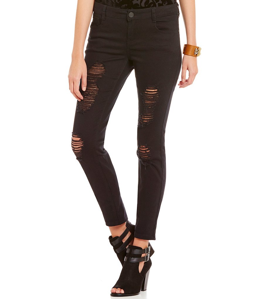 GB Distressed Skinny Jeans