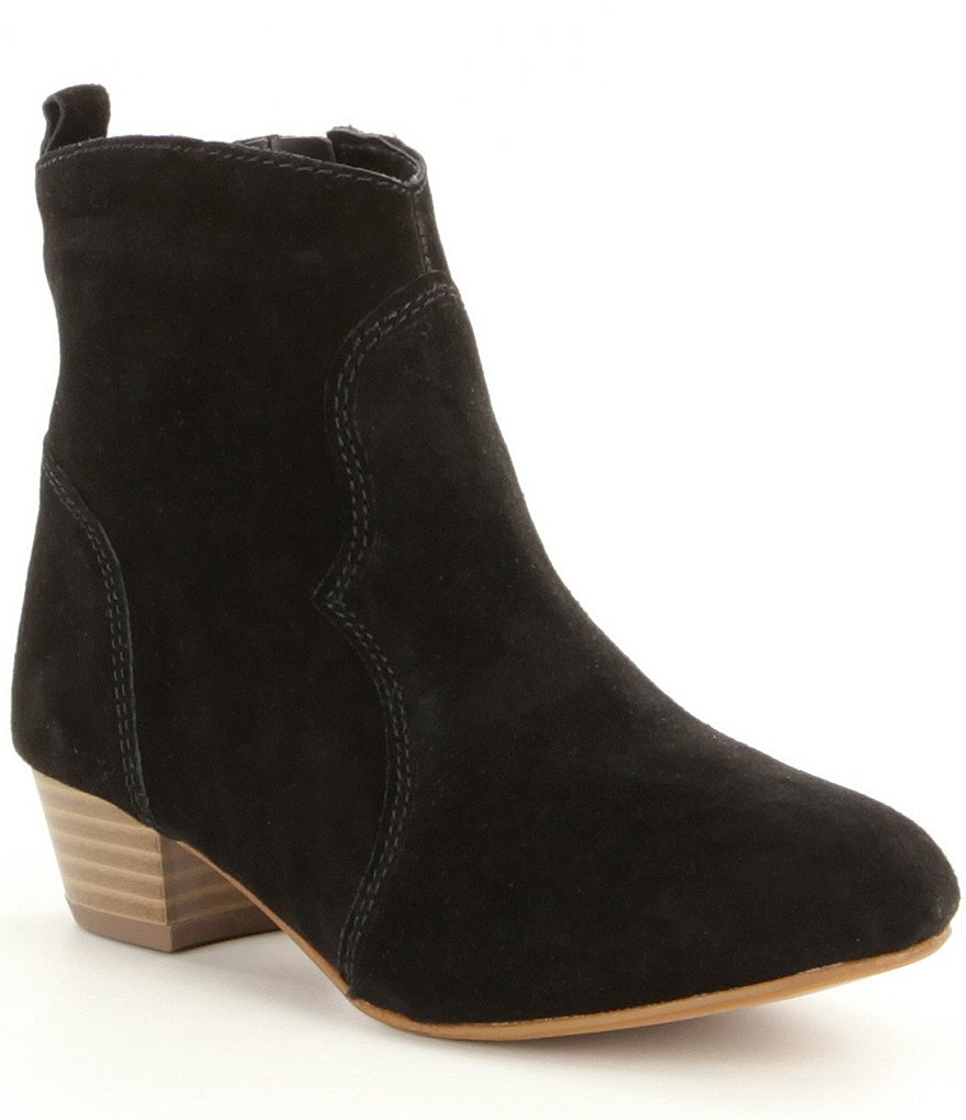 Steve Madden Girls' J-Hipster Suede Ankle Boots