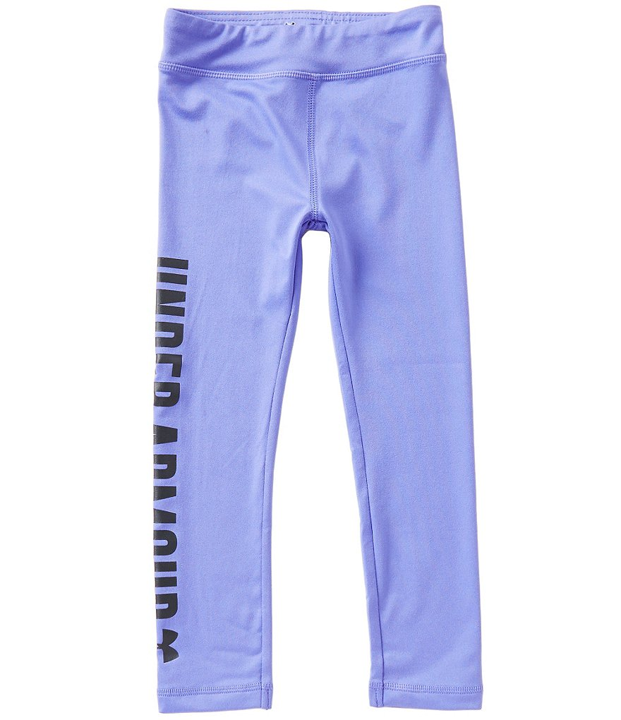 Under Armour Little Girls 2T-6X Favorites Logo Leggings