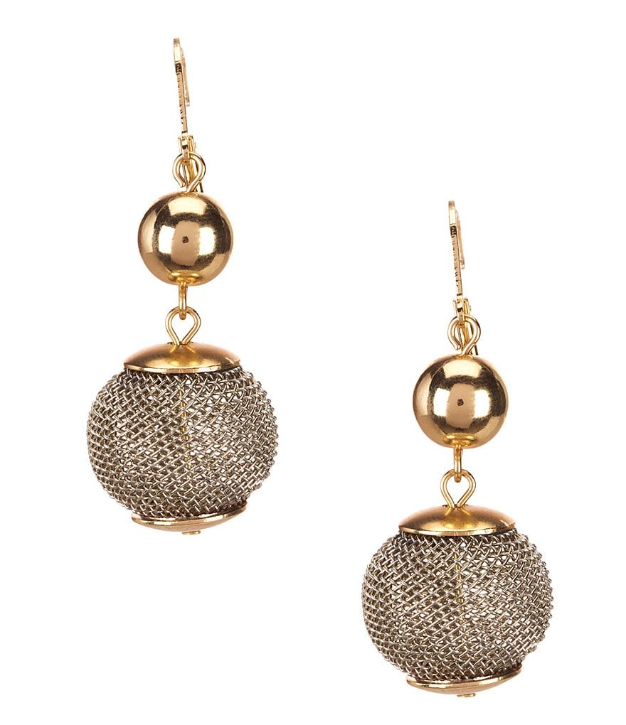 Dillard´s Tailored Mesh Drop Earrings