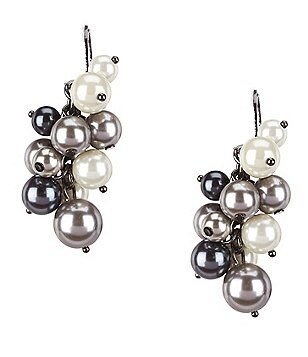 Kennedy Row Shaky Faux-Pearl Drop Earrings