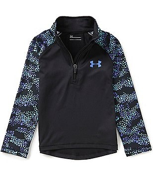Under Armour Little Girls 2T-6X Mini Galaxy 1/4-Zip Jacket