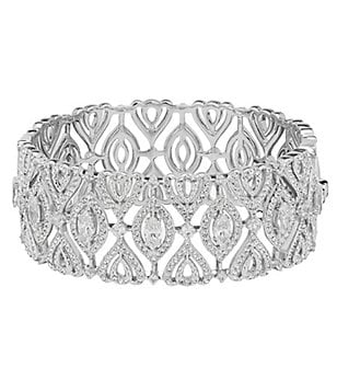 Nadri Cubic Zirconia Bangle Bracelet