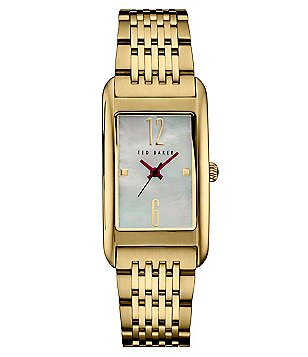 Ted Baker London Tara Mother-of-Pearl Analog Bracelet Watch