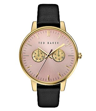 Ted Baker London Liz Multifunction Leather-Strap Watch
