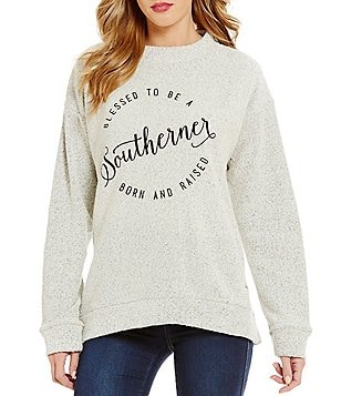 Royce Blessed To Be Southern Fleece Top