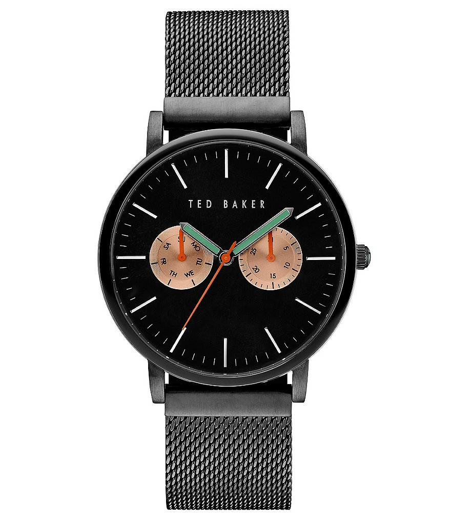 Ted Baker London Brit Multifunction Mesh Bracelet Watch