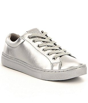 Guess Jaida Lace-Up Metallic Sneakers