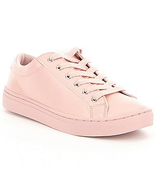 Guess Jaida Lace-Up Leather-Upper Sneakers