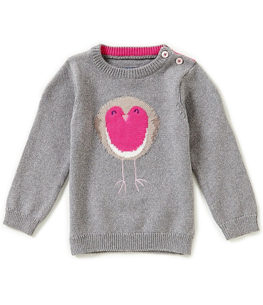 Joules Baby/Little Girls 12 Months-3T Intarsia Pullover Sweater