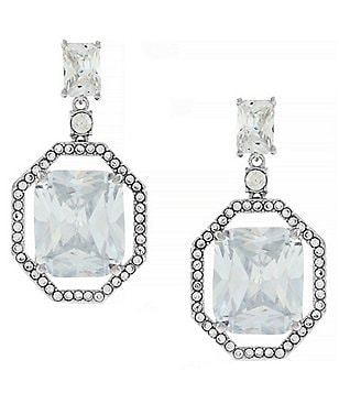 Louise et Cie Opulent Cubic Zirconia Drop Earrings