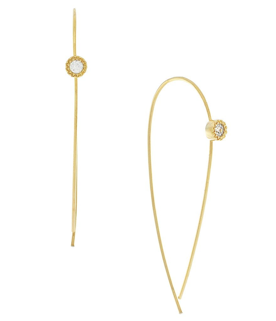 Cole Haan Jump Through Hoops Threader Earrings