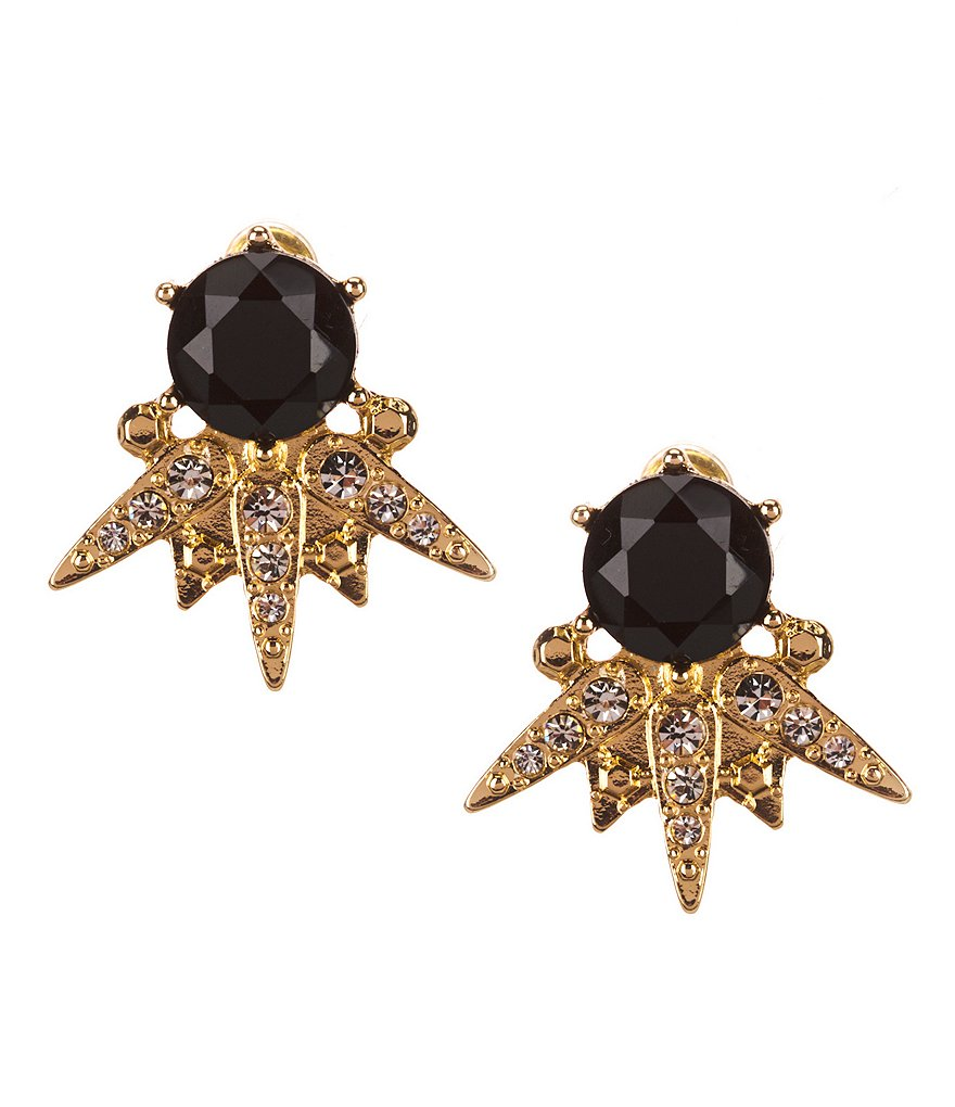 Anna & Ava John Snow Stud Earrings