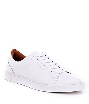 Frye Ivy Leather Lace-Up Low Sneakers