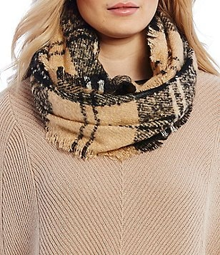 Dillard´s Plaid Textured Muffler