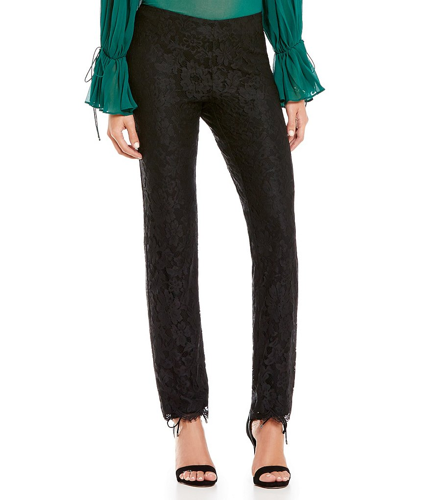 Gianni Bini Hailey Lace Pants