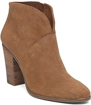 Vince Camuto Franell Embossed Booties