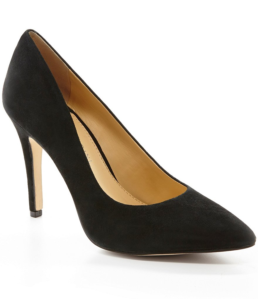 Gianni Bini Robynn Suede Pointed-Toe Pumps
