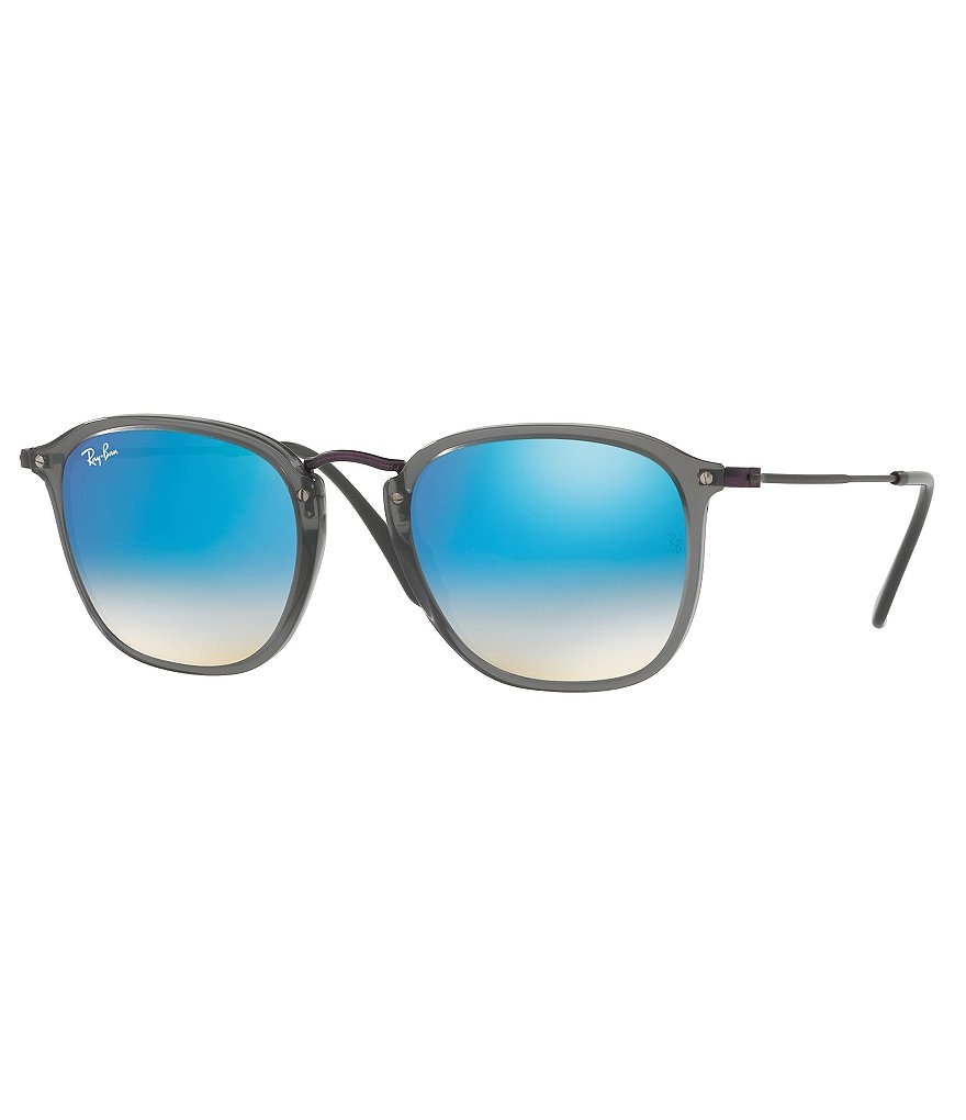 Ray-Ban Mirrored Gradient Square Sunglasses
