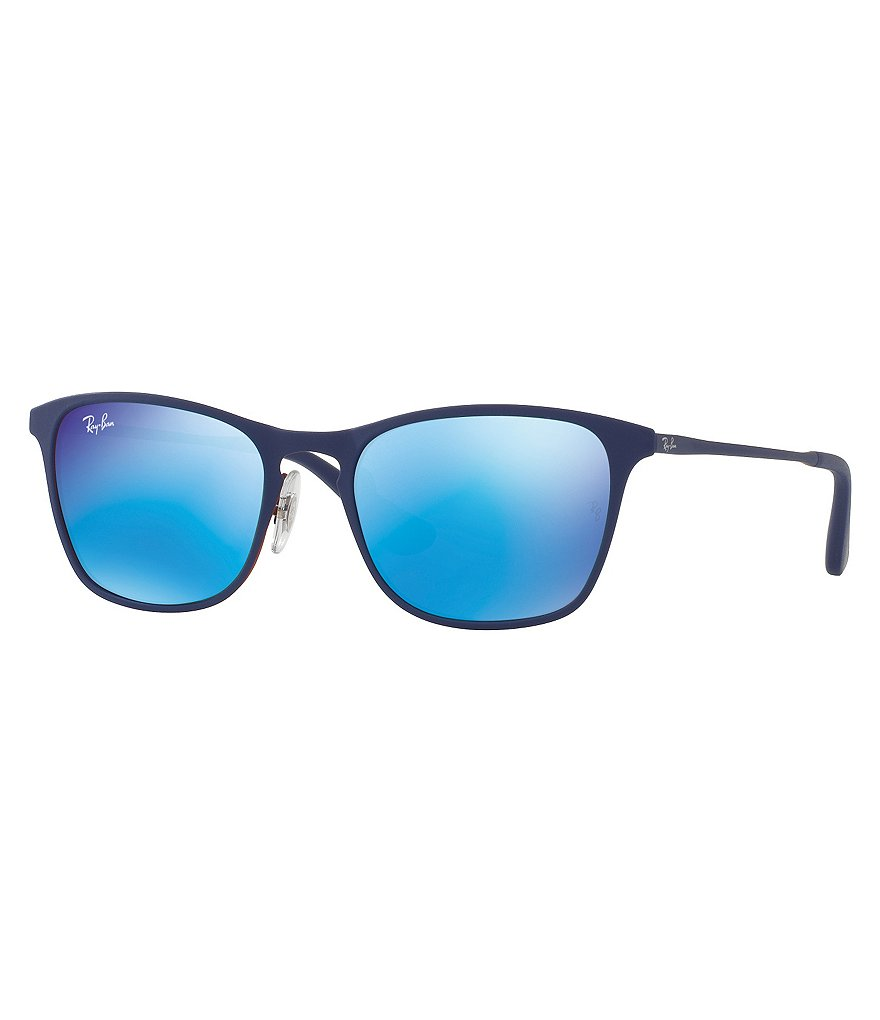 Ray-Ban Jr Children´s Rubber Square Mirrored Sunglasses