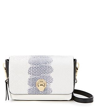Louise et Cie Alis Snake Small Cross-Body Bag