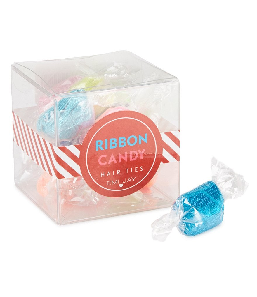 Emi Jay Ribbon Candy Hair Tie 12-Pack
