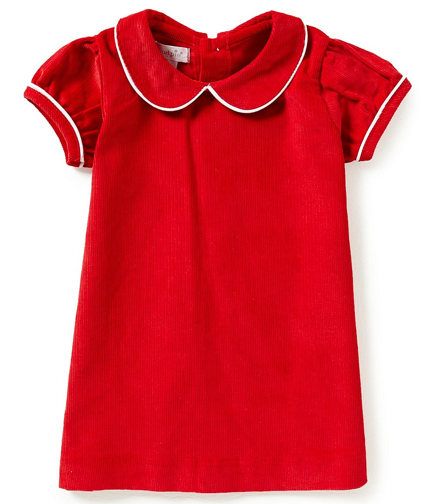 Mud Pie Baby Girls Newborn-18 Months Corduroy Dress