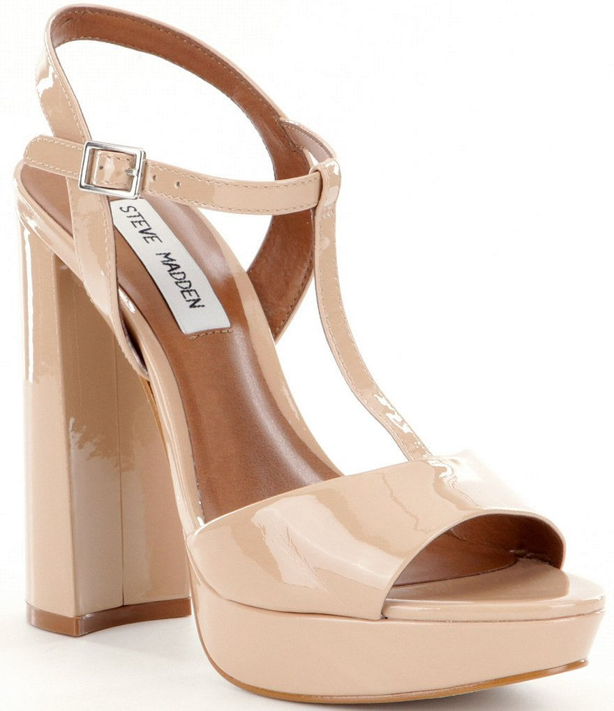 Steve Madden Kinder Block Heel Dress Sandals