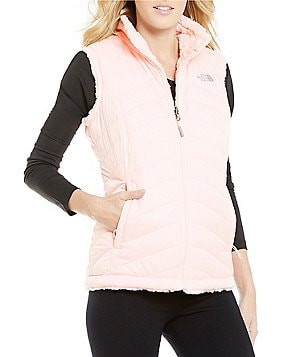 The North Face Mossbud Swirl Fleece Water-Repellent Reversible Vest