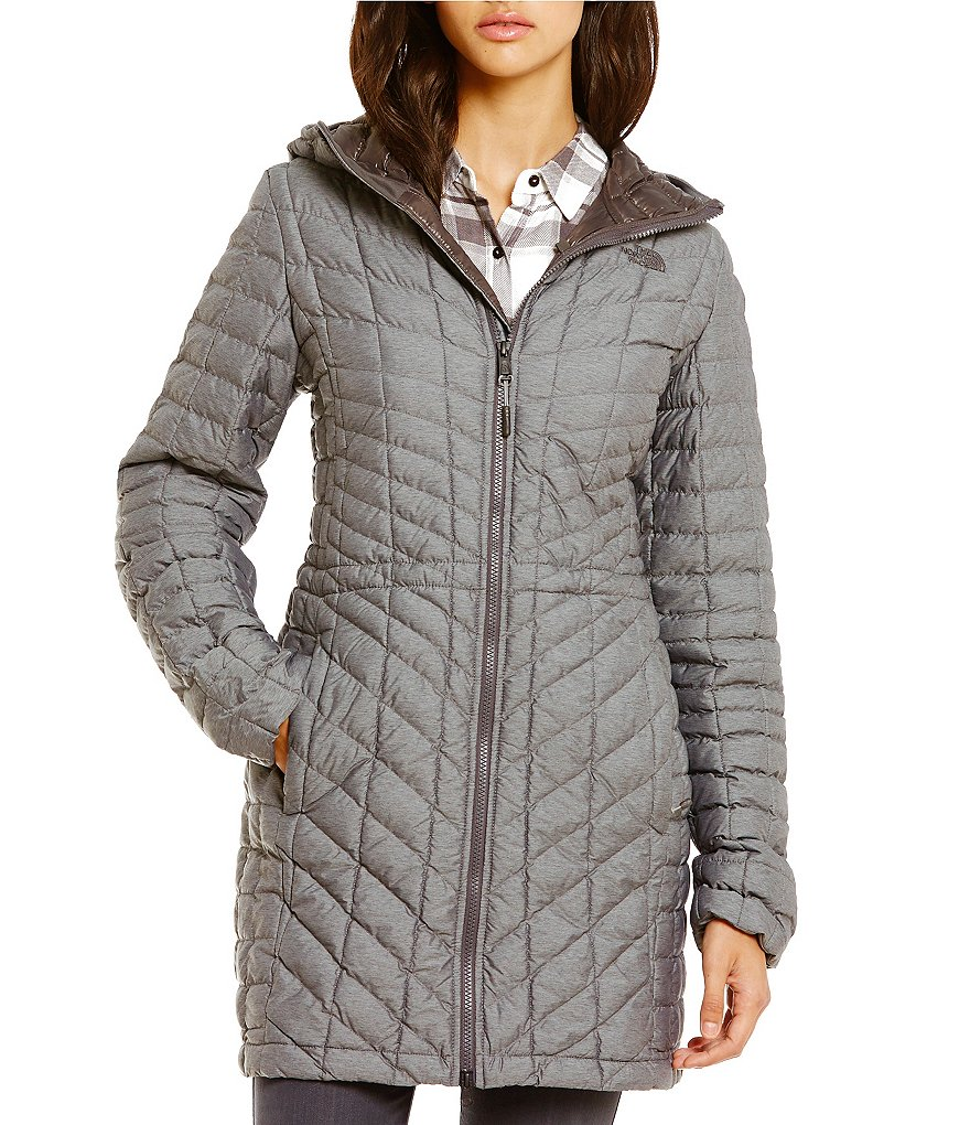 The North Face Thermoball Water-Repellent Quilted Hooded Parka