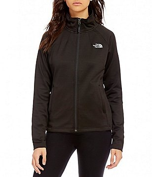The North Face Momentum Full Zip Mockneck Fleece Jacket