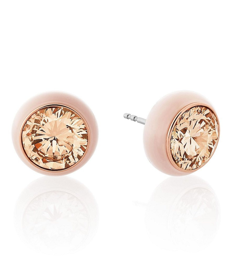 Michael Kors Holiday Luxe Blush Stud Earrings