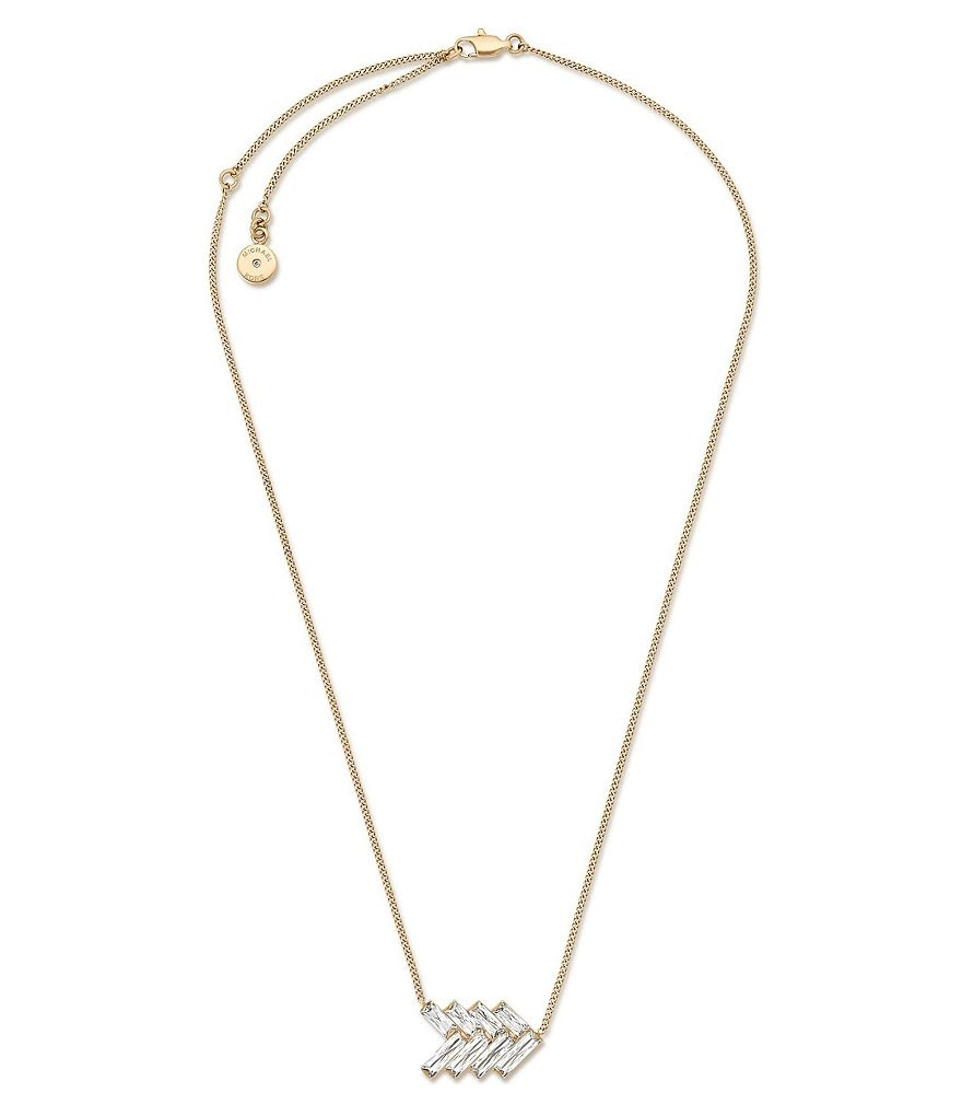 Michael Kors Black Tie Affair Pendant Necklace