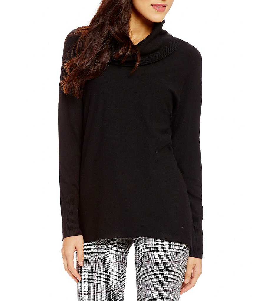 Investments Petites Cowl Neck Sweater